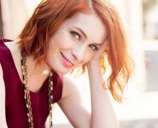 "Felicia Day: ""Butter Brangelina Tracking Devices"""