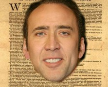 Nick Cage is Your Resume