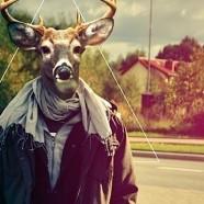 Hipster the Flying Deer